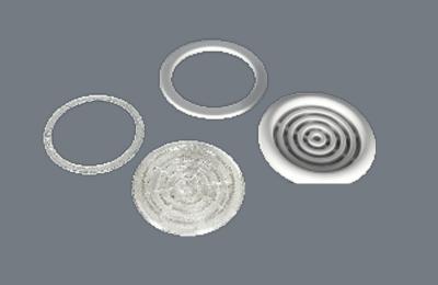 Вентиляционная решетка + кольцо