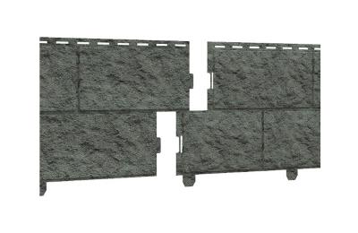"Сайдинг ""Стоун-хаус"" Камень Изумрудный бесшовн., с двойным замком 3,045х0,23 м (0,70035м2) (10)"