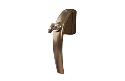 Ручка оконная ROTO SWING с ключом, 37 мм, + 2 винта 5х45 темная бронза