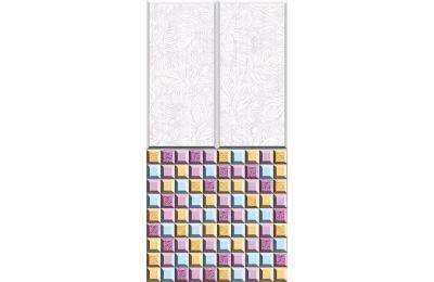 Панель СТАНДАРТ 25_Тюльпан мозаика №618/2 2,7 (8мм)