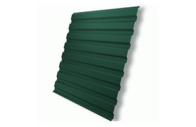 Профнастил полимер С8 0,4 (1150/1200х2000мм) 2,4м2 6005 зеленый мох