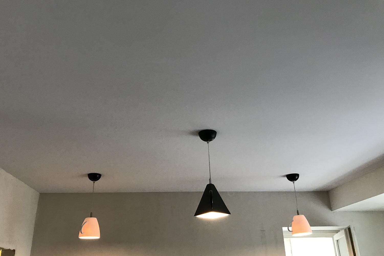 Варианты тканевых потолков фото